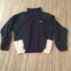 80s Vintage Nike Windbreaker, Large
